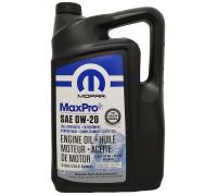 Моторне мастило Chrysler MaxPro+ 0W-20, 5 л 68524013AA