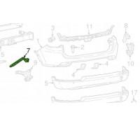 Кріплення направляюча заднього бампера Jeep Compass II 2017-2020. Ліва