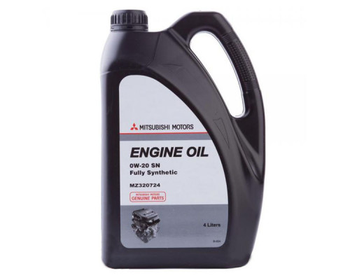 Моторное масло Mitsubishi ENGINE OIL 0W-20 4л